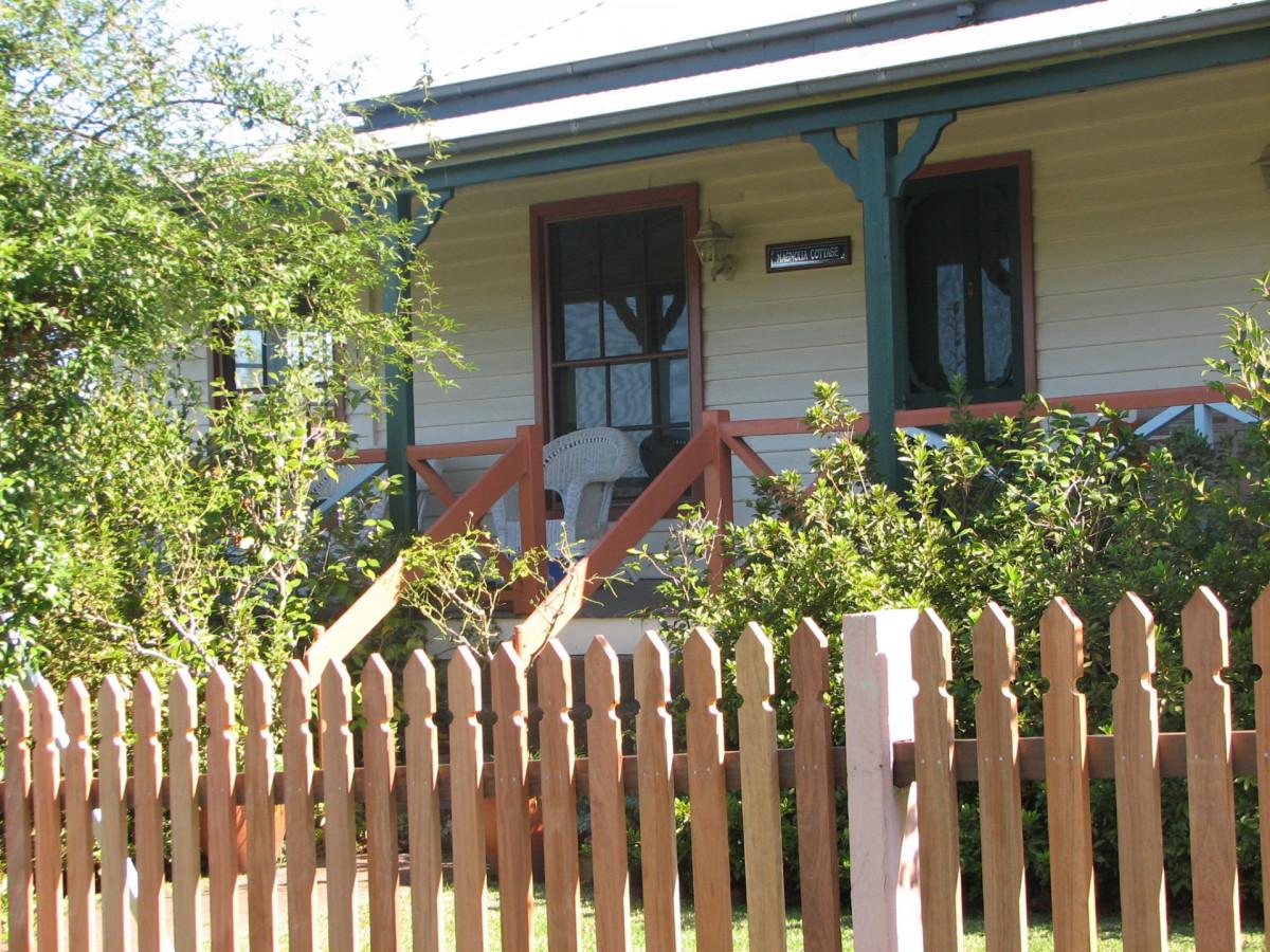 Magnolia Cottage verandah