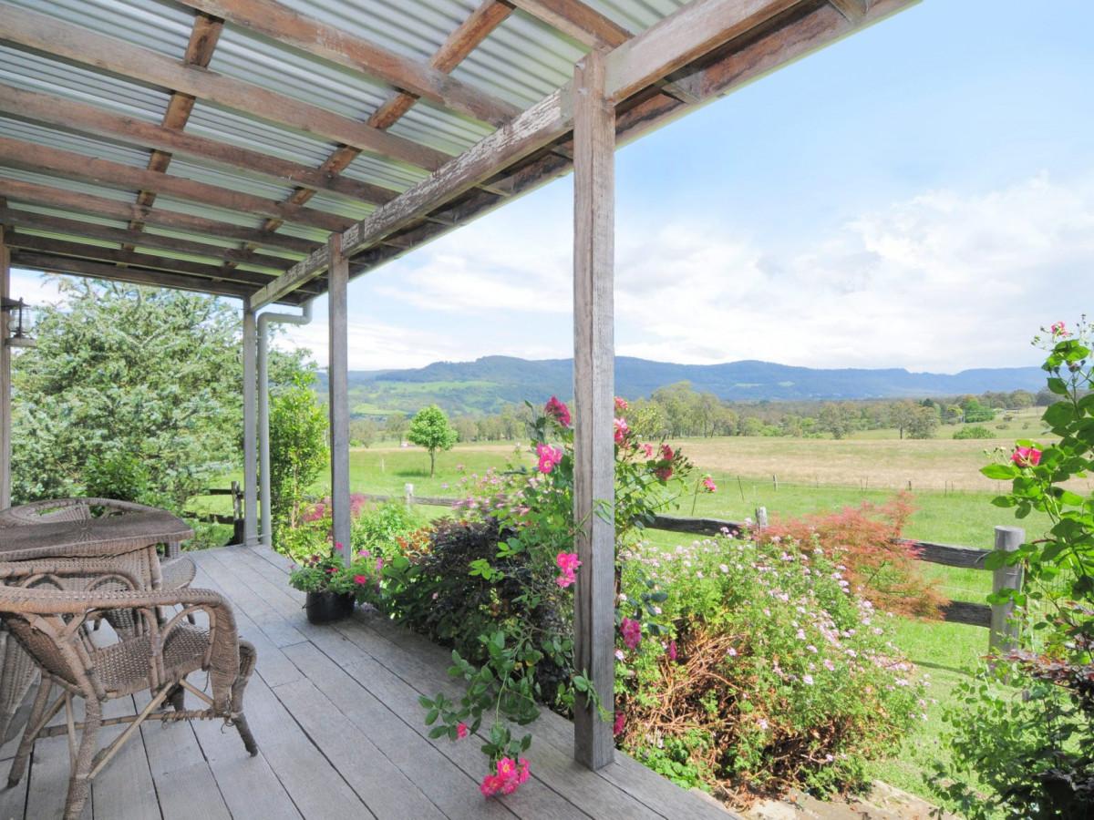 Settler's Cottage verandah